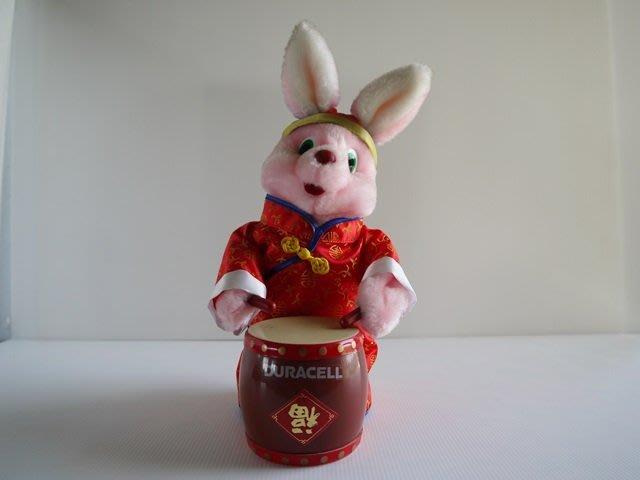 麥物堂珍藏公仔娃娃~全新『金頂打鼓兔』**絕版逸品*