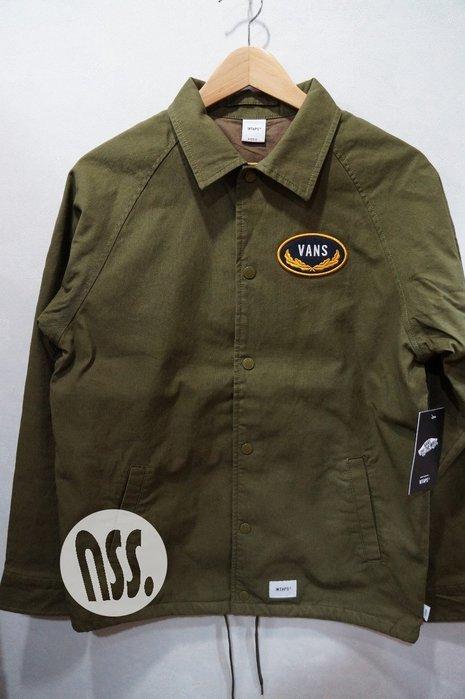 「NSS』WTAPS VANS TORREY 外套 夾克 綠 S M