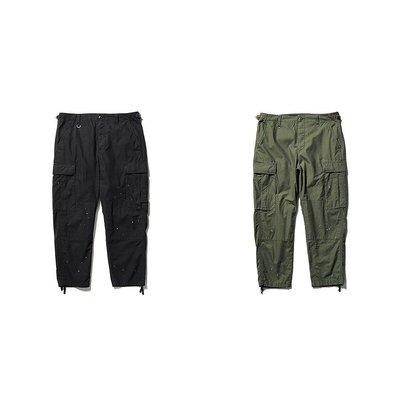 uniform experiment DRIPPING RIP STOP CARGO PANTS 工作褲。太陽選物社