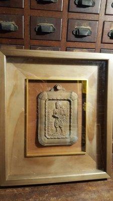 早期懷舊二宮尊德銅牌【侘寂文學館】昭和十年(二宮尊德)日本首相銅雕藏家釋出 ..讓藏 A03