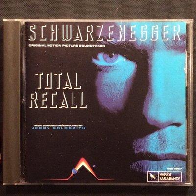 Total Recall魔鬼總動員電影原聲帶 Jerry Goldsmith/配樂 舊版1990年無ifpi