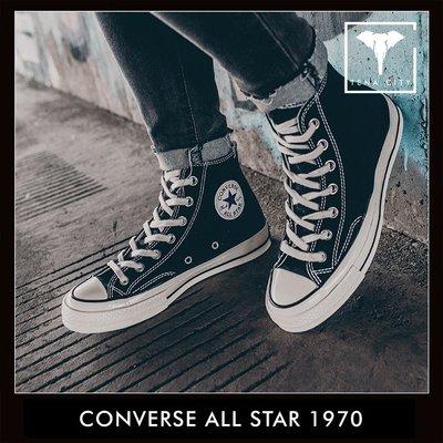 CONVERSE ALL STAR TAYLOR 1970 高筒 經典黑白 三星黑標 男女帆布鞋 162050C