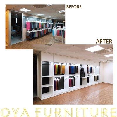 【歐雅系統家具】超驚豔居家改造 室內設計 商業空間 展示間 仿石紋