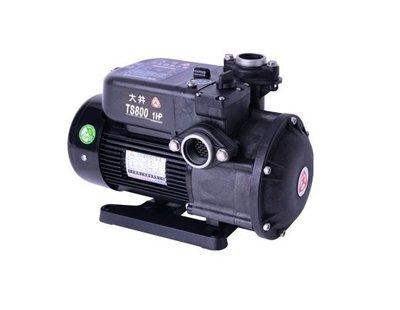 【 川大泵浦 】TS-800B 大井WARLUS 1HP 靜音不生銹抽水馬達 TS800B (環保抗菌) TS800