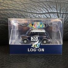 全新未開 Tiny LOG-ON 20周年紀念 20th Anniversary Mini Cooper Mk1 限量2000架 連獨立編號卡