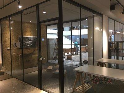 【耀偉】鋁框高隔間 (辦公桌/辦公屏風-規劃施工-拆組搬遷工程-組合隔間-水電網路)12