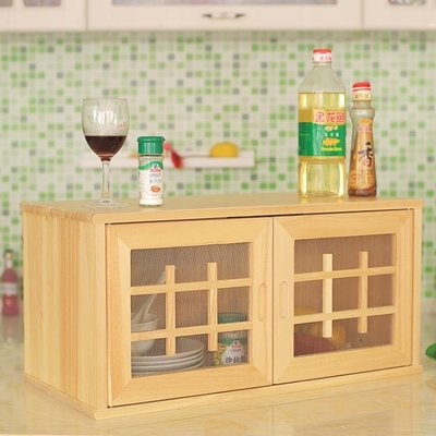 超薄餐邊櫃現代簡約簡易實木小碗櫃廚房菜櫃家用餐廳北歐中式 YTL