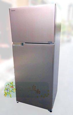 台南家電館~TOSHIBA東芝510公升變頻雙門冰箱《GR-A55TBZ(N)》無邊框.節能~典雅金