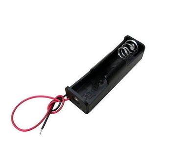 《信捷戶外》【E39A】18650 電池盒 單節18650鋰電池盒 充電座 帶線(不含電池)
