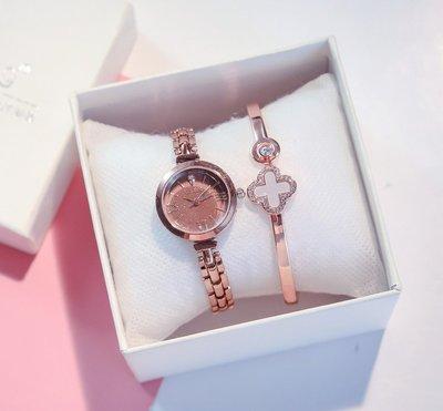 手錶 學院風 日系 情侶表小眾鏈條鋼帶氣質女士手表女款時尚小巧精致細帶小表盤ins風防水