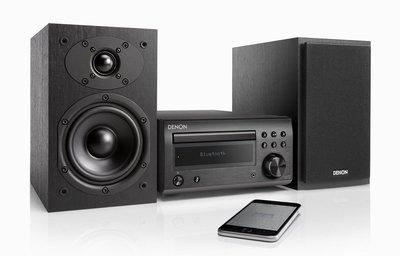 [紅騰音響]現貨 DENON D-M41 迷你音響 藍牙、CD、FM/AM (另有Marantz M-CR612)即時通可議價