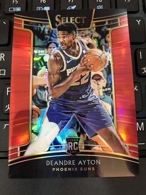 2018-19 NBA Panini Select 太陽隊 Deandre Ayton 紅版新人亮面卡 限量199張