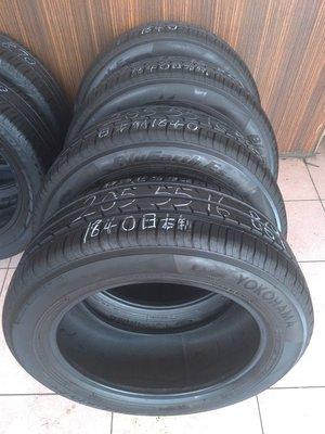 205 55 R 16 橫濱 ES32 18年40週 日本製造 9成新 落地胎 二手 中古 輪 胎 一輪2000元