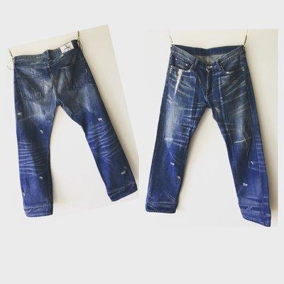 Neighborhood Crack 克拉克 板手 牛仔褲 藍色 basic M號 極新品