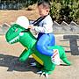 現貨充氣恐龍服充氣人騎恐龍衣服侏羅紀動物表演服霸王龍充氣表演服怪獸立體服裝子坐騎玩具表演怪獸服成人兒童充氣恐龍聖誕節禮物