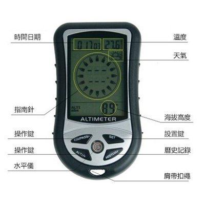 NB研究所-戶外運動設備 電子錶 高度...