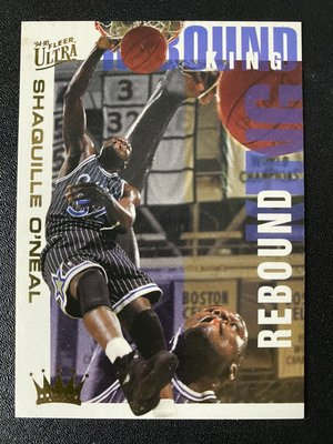 Shaquille O'Neal 1994-95 Ultra Rebound King #7