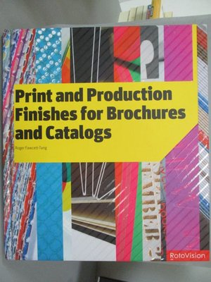 【書寶二手書T5/設計_ZJO】Print and production finishes for brochures