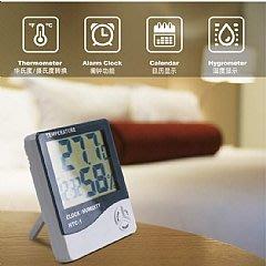 超大螢幕電子溫濕度計