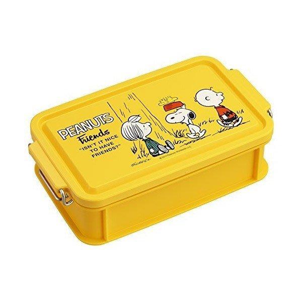 日本製  史奴比 116490 樂扣蓋 便當盒 750ML 奶爸商城 通販 限定