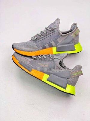 adidas NMD_R1 情侶款網面機能緩震慢跑鞋*EU36~45。S01009