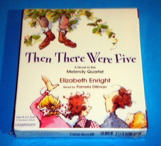 【幼兒英語音樂CD】小pen 外文*聽故事學英語~Then There Were Five【5片裝】