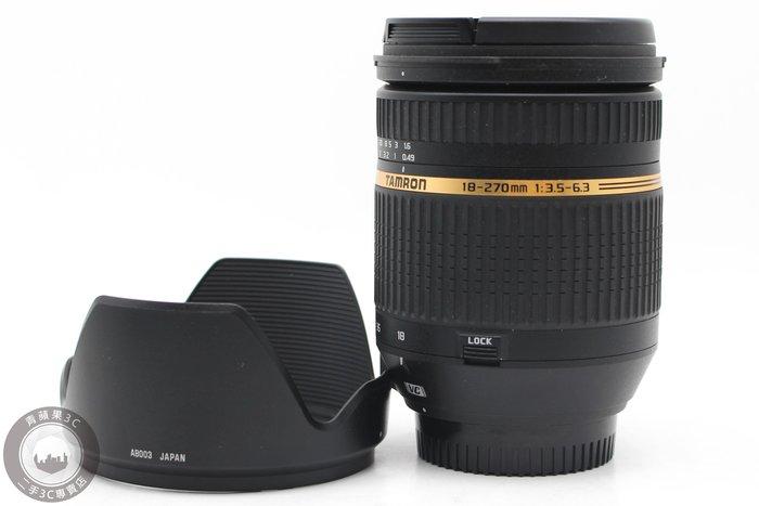 【高雄青蘋果3C】Tamron 18-270mm f3.5-6.3 Di II B003 For Nikon#49570