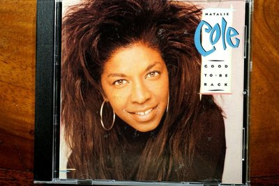 NATALIE COLE 納塔莉高 GOOD TO BE BACK CD