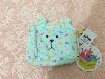 日本帶回~宇宙人Craftholic 小化妝包(小恐龍限定款)