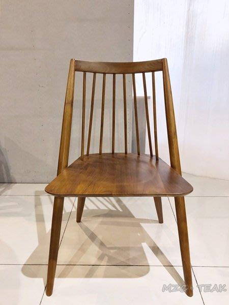 【美日晟柚木】CH 32 柚木椅.餐桌椅.造型椅.原木椅子 現代 設計款 書桌椅 人字椅 造型椅