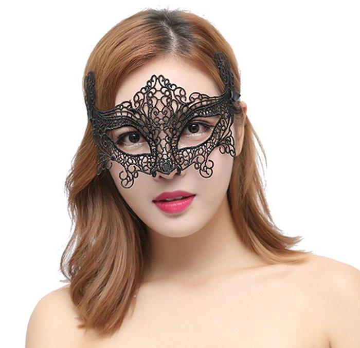 【洋洋小品舞會面具威尼斯面具蕾絲縷空眼罩D/E/F】Cosplay聖誕節表演派對扮演服裝道具萬聖節服裝表演服化妝舞會面具