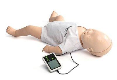 【晴晴百寶盒】新型保母證照考試 歐美高級嬰兒模擬醫療急救訓練 證照考試 保母娃娃救護訓練 心肺復甦術醫學教學A110