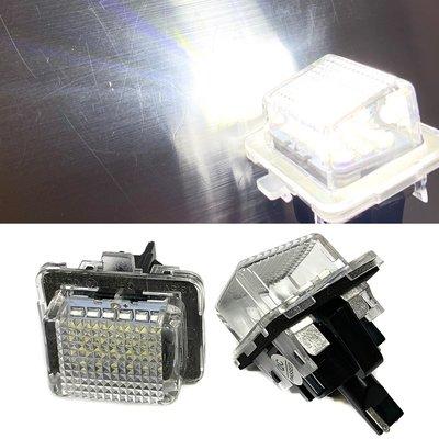 一組 LED車牌燈License Plate For W204 W207 W212 W216 W221 10-11牌照燈