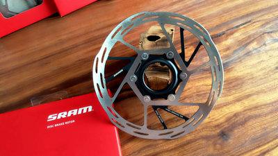 ~騎車趣~SRAM中央鎖入式 PACELINE 160mm 碟盤 碟片