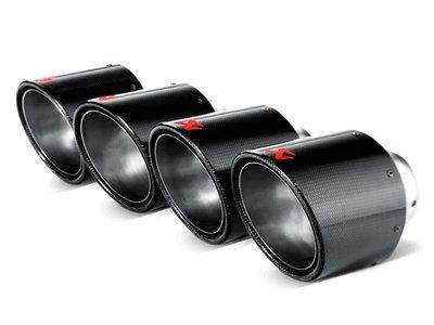 【樂駒】Akrapovic 蠍子 CHEVROLET CORVETTE ZO6 ZR1 C6 尾飾管 碳纖維 115mm