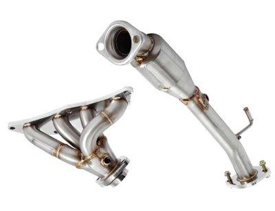 慶聖汽車 雷力排氣管 13 FOCUS MK3 2.0 頭段+金屬觸媒下彎