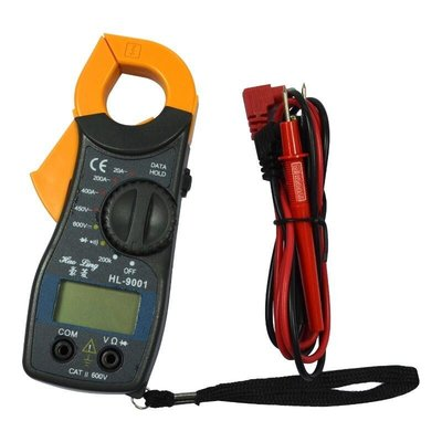 鉗夾式數位電流勾表HL-9001 數位電錶 可量直流/交流【DD225】 123便利屋