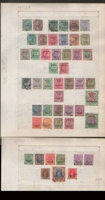 【雲品】印度India old stamps on Dealer's page(16)