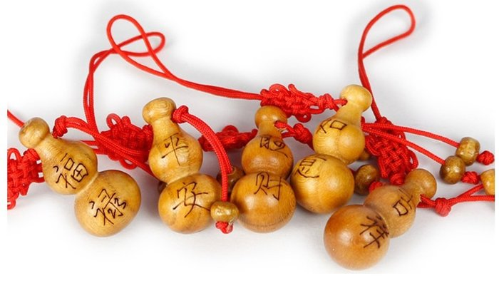 桃木雕刻  福禄,平安,吉祥,如意,旺财,小葫芦挂件,手機吊飾,招财辟邪吉祥物