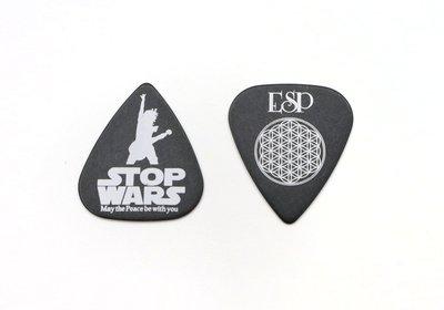 【老羊樂器店】開發票 ESP PICK 彈片 撥片 匹克 STOP WARS 0.8mm