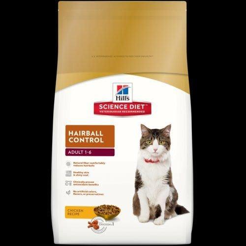 希爾思 希爾斯 Hills 毛球控制 雞肉配方 成貓 1-6歲 貓用 10KG 生活照護 貓用乾糧 [10299HG] 現金專區