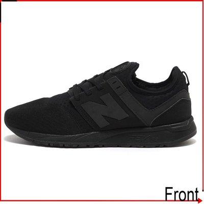 Front前線 New Balance 247 MRL247BK NB 輕量 網布 慢跑鞋 全黑 學生4雙優惠