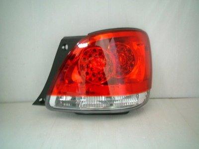 ~~ADT.車燈.車材~~LEXUS GS300 紅白透明殼LED尾燈一組5000