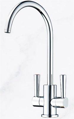 《日成》TAP 廚房 無鉛 陶瓷雙把 鵝頸 美式飲水機龍頭 TAP-178003