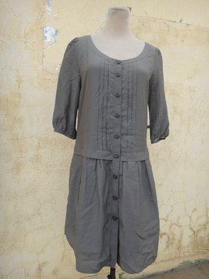 jacob00765100 ~ 正品 日本製 SPICK AND SPAN 軍綠色 長版棉上衣 size: F