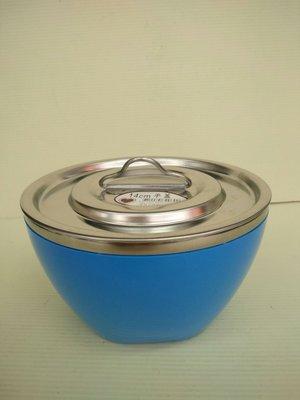 304(18-8)不鏽鋼碗15cm*9cm(附304不鏽鋼平蓋)