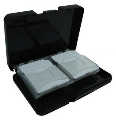 含稅 4入記憶卡 收納盒 保存盒 SD可放4片 附二個 microSD 裸卡盤 顏色隨機出貨