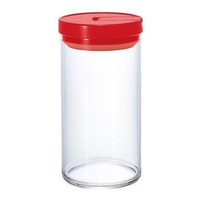 【圓臻】HARIO 咖啡儲豆密封罐(L) 1000ML 黑色蓋子