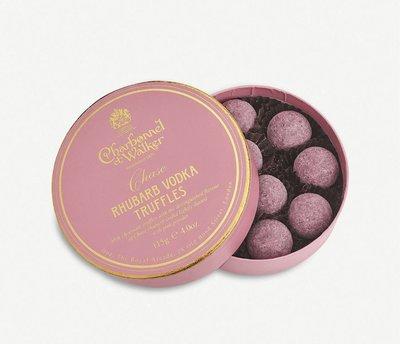 (預購)(下標前請先詢問)英國 CHARBONNEL ET WALKER Chase rhubarb vodka truffles 伏特加松露巧克力115g