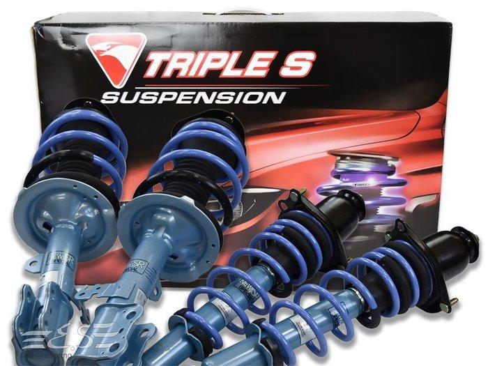 阿宏改裝部品 KYB NEW SR 藍筒避震器+TS 短彈簧 總成件 TOYOTA  9代 ALTIS 01~ 可刷卡